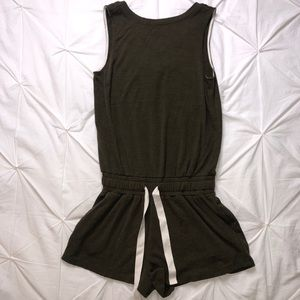 ARITZIA Wilfred Romper With Pockets